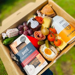 """Father's Day Grazing 🍺🧀🥒🍅  There are three different Father's Day grazes available to order for collection, delivery and UK nationwide postage from 17th-20th June  Simply HAM-AZING - £30 ploughman's with Birmingham Brewery Beer  CHUGS and kisses - £30 postal savoury with Birmingham Brewery Beer  """"UnBEERlieivable"""" - £60 Ploughman's with Birmingham Brewery Beer, serious pig snacks and Handmade Large Double Wall Beer Glass Tumbler  UnBEERlieivable includes - five varieties of cheese: five counties cheddar, Comte, Edam, Stilton and Belton Farm Port Wine Derby Cheese. Pork pie, scotch eggs, pickles, pate, ham, charcuterie meats, ploughman's chutney, nuts, fresh fruits and vegetables, crackers, chocolate bark. Also include is a artisan beer, Handmade Large Double Wall Beer Glass Tumbler with beer snacks: salted almonds and pork scratchings 🥒🍅🧀🍺  #grazingtables #grazingtable #grazingtablesandcheeseboards #grazing #grazingplatter #grazingboard #grazingbox #solihullbusiness #solihull #solihullfood #solihullfoodie #birminghambusiness #birminghamfood #birminghamfoodie #foodtrends #spreadsandbreads #foodporn #platters #partyfood #eventcatering #foodevents #foodgifts #fathersday #fatherdaygift   #spreadsandbreadssolihull  #weddingcatering #weddingcaterer #partycatering #partycaterer @solihullcouncil @solihullforsuccess"""