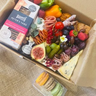Raining Saturday grazing 🌧   We can't think of a better way to spend a raining Saturday than with a grazing box of cheese to sit in front of the fire with a movie or a good book 📚 🔥 🎥   Our THREESOME Savoury feeds 2-3 people and is priced at £30, don't forget you can add macrons 🙌  🧀 🥨🍇  #grazingtables #grazingtable #grazingtablesandcheeseboards #grazing #grazingplatter #grazingboard #grazingbox #solihullbusiness #solihull #solihullfood #solihullfoodie #birminghambusiness #birminghamfood #birminghamfoodie #foodtrends #spreadsandbreads #foodporn #platters #partyfood #eventcatering #foodevents #foodgifts  #spreadsandbreadssolihull  #weddingcatering #weddingcaterer #partycatering #partycaterer @solihullcouncil @solihullforsuccess