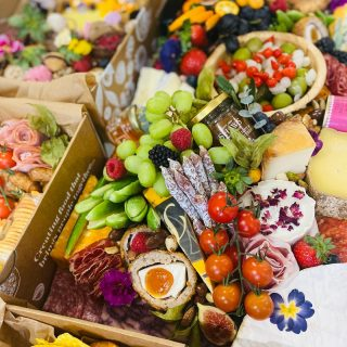 """PARTY READY GRAZE with and """"ALL-OUT platter, INCROWD desserts and  INCROWD kids, all delivered party ready this morning!   #grazingtables #grazingtable #grazingtablesandcheeseboards #grazing #grazingplatter #grazingboard #grazingbox #solihullbusiness #solihull #solihullfood #solihullfoodie #birminghambusiness #birminghamfood #birminghamfoodie #foodtrends #spreadsandbreads #foodporn #platters #partyfood #eventcatering #foodevents #foodgifts  #spreadsandbreadssolihull  #weddingcatering #weddingcaterer #partycatering #partycaterer @solihullcouncil @solihullforsuccess"""